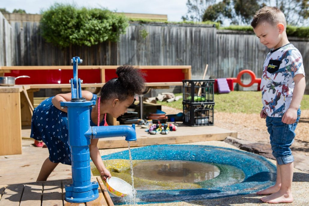 Child Care Outdoor Water Play Pump