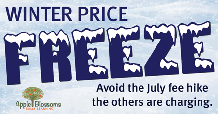 childcare price freeze 1 - Our Winter Price Freeze