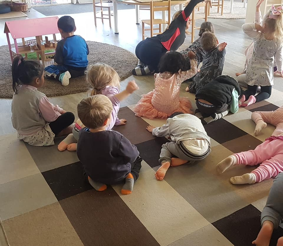 child care Narre Warren yoga - Yoga Day at Apple Blossoms Narre Warren